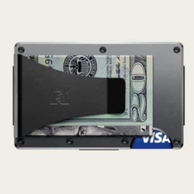 ridge wallet money clip