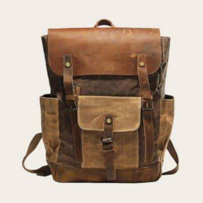 waxed canvas backpack value