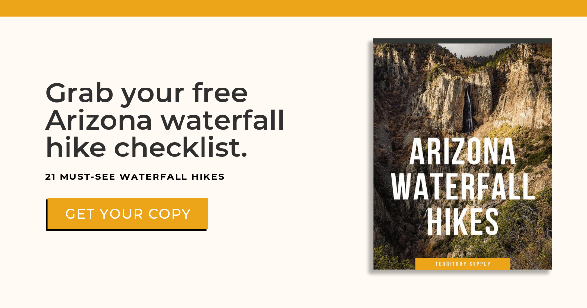 Arizona waterfall hikes checklist