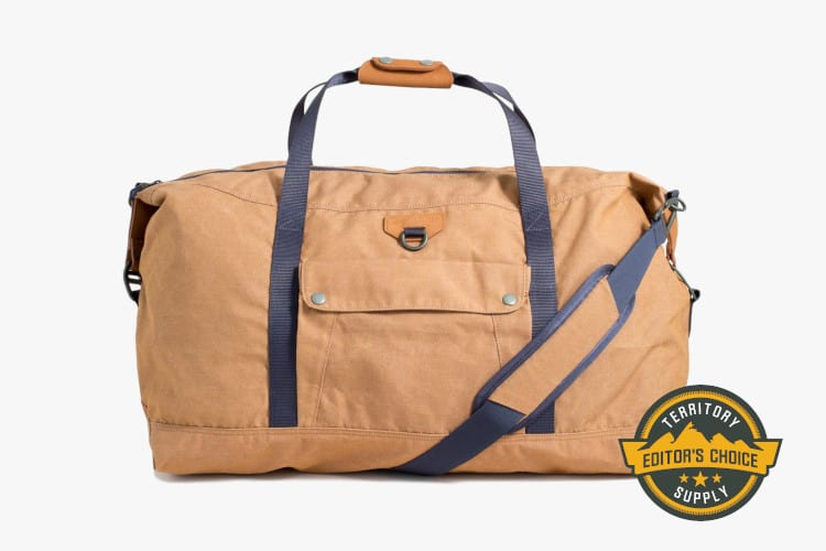 8fd9d4746e74 22 Timeless Canvas and Leather Duffle Bags for Weekend Travel