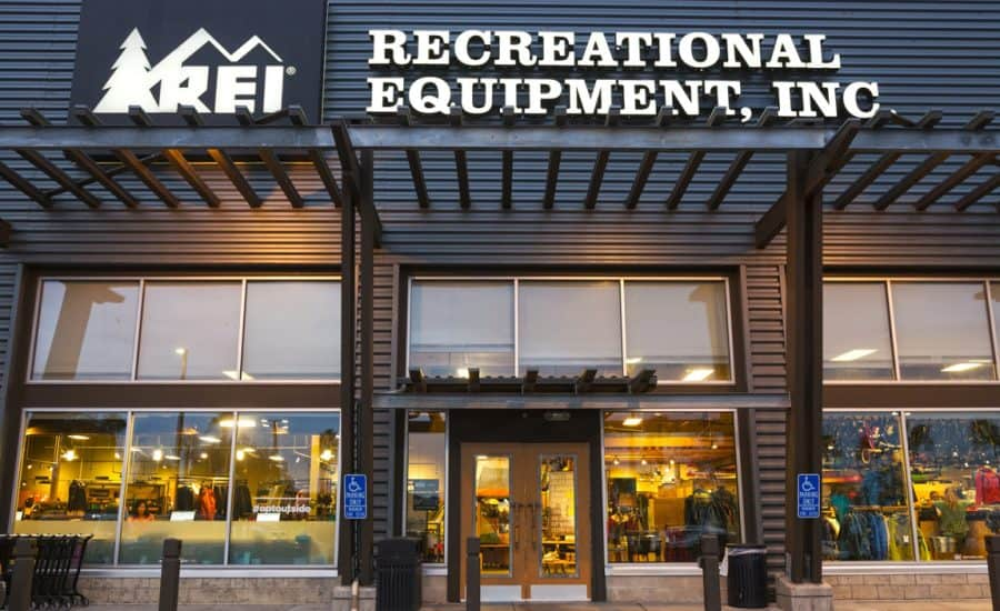 rei used gear north face renewed