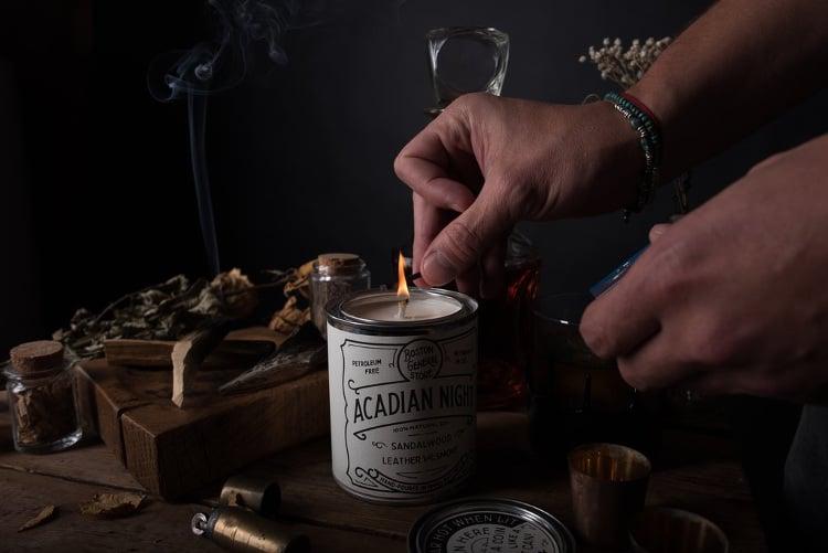 acadian nights candle