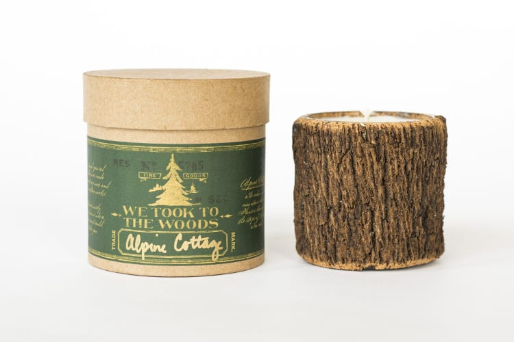 alpine bark candle