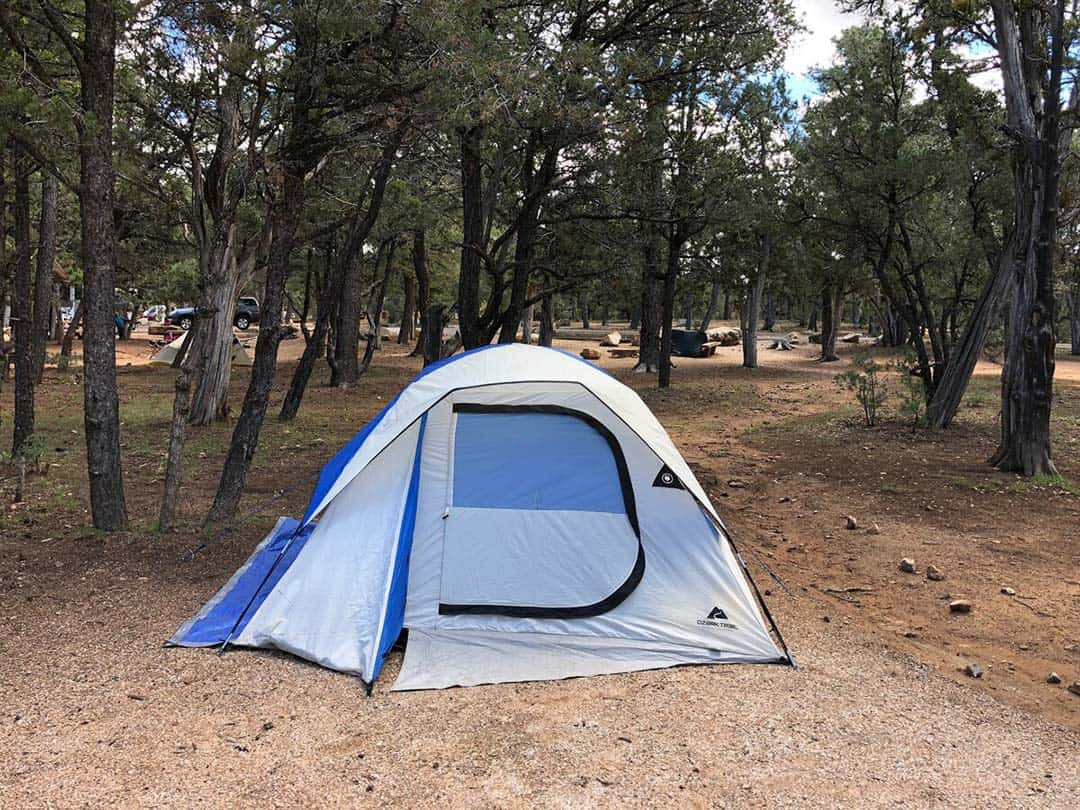 camping equipment airbnb grand canyon