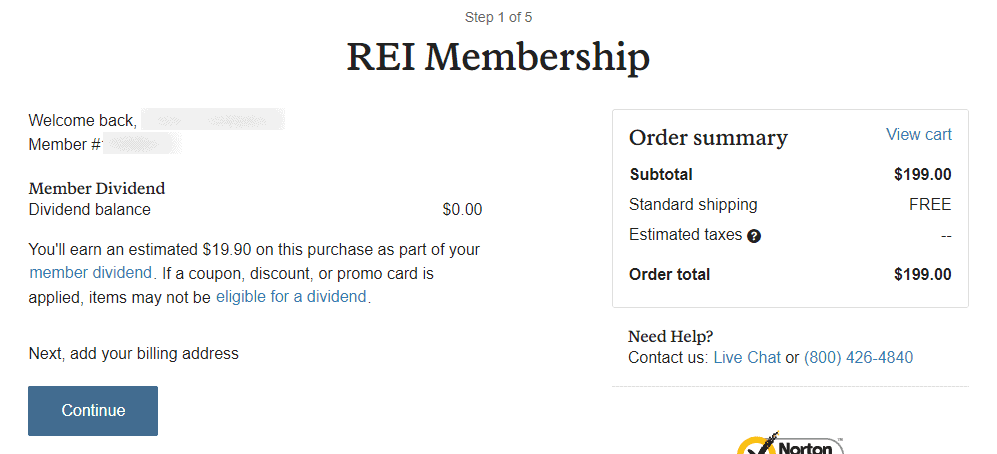 check rei dividends