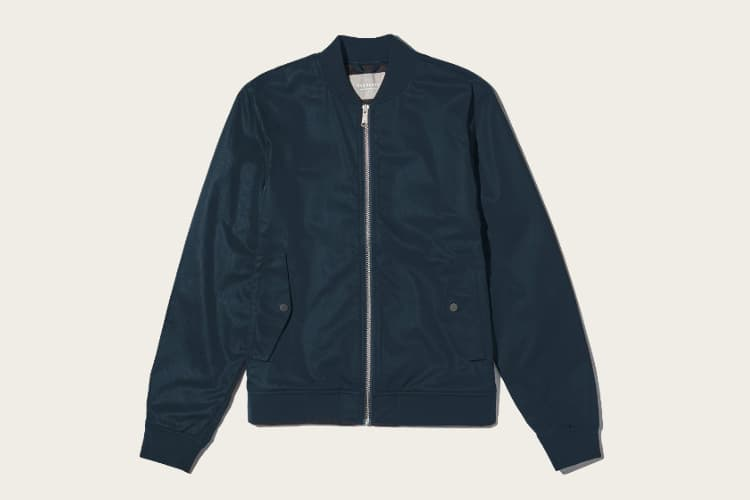 everlane cotton bomber