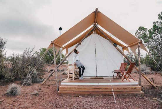 grand canyon glamping rental