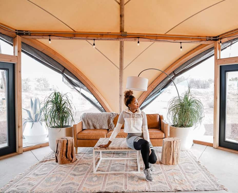 grand canyon airbnb and glamping