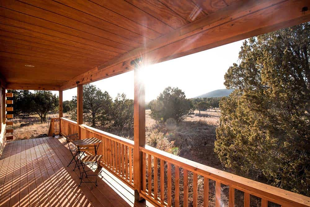 grand canyon log cabin rental