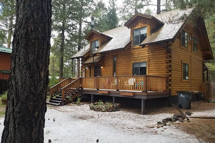 cabin fever flagstaff cabin