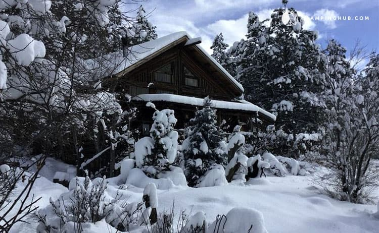 Cozy Log Cabin flagstaff