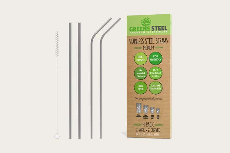 greensteel straws