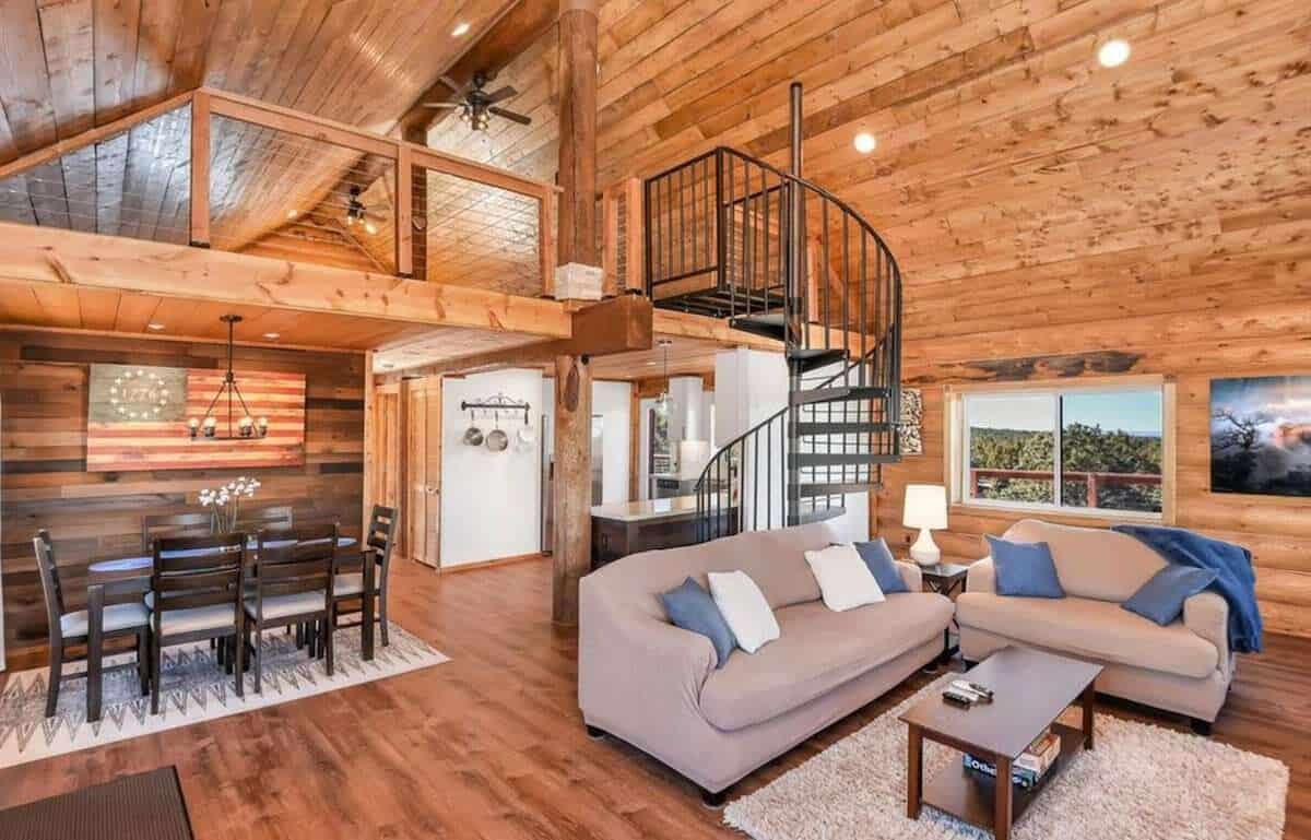 Sunset Ridge Log Cabin williams
