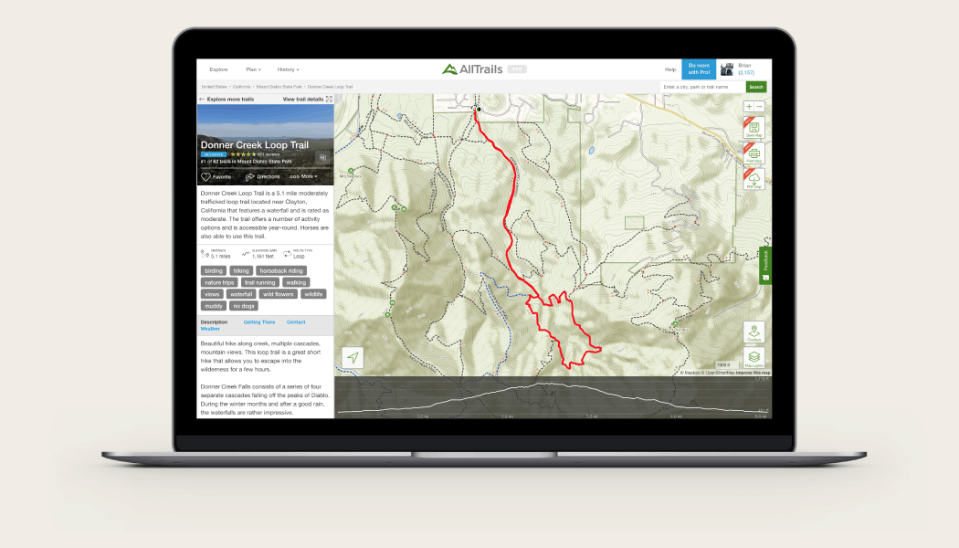 alltrails on mac