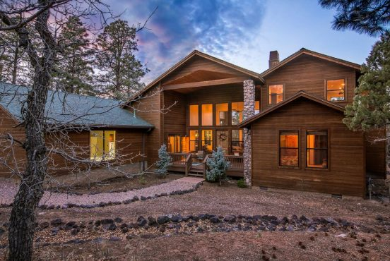 cabin rentals show low arizona