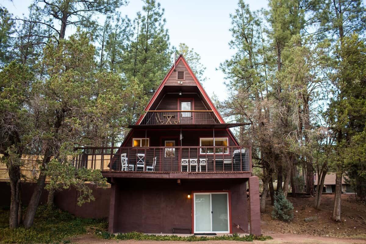 payson a-frame cabin