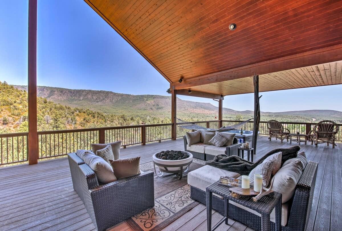 rim retreat cabin