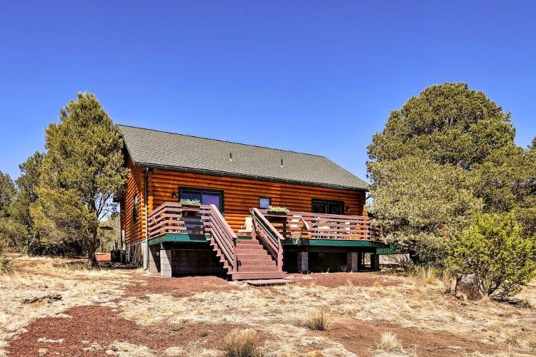 warm welcoming williams cabin