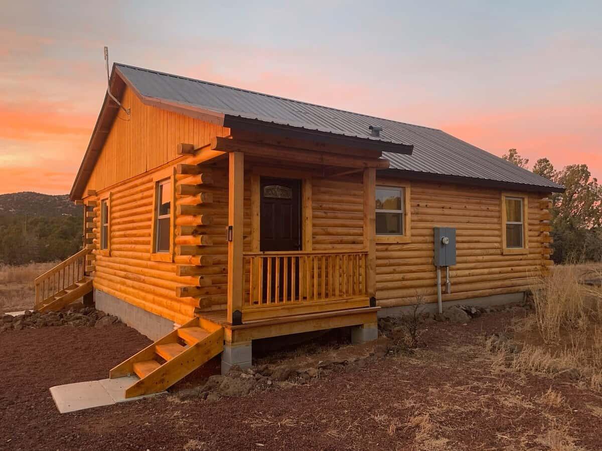 williams log cabin rental
