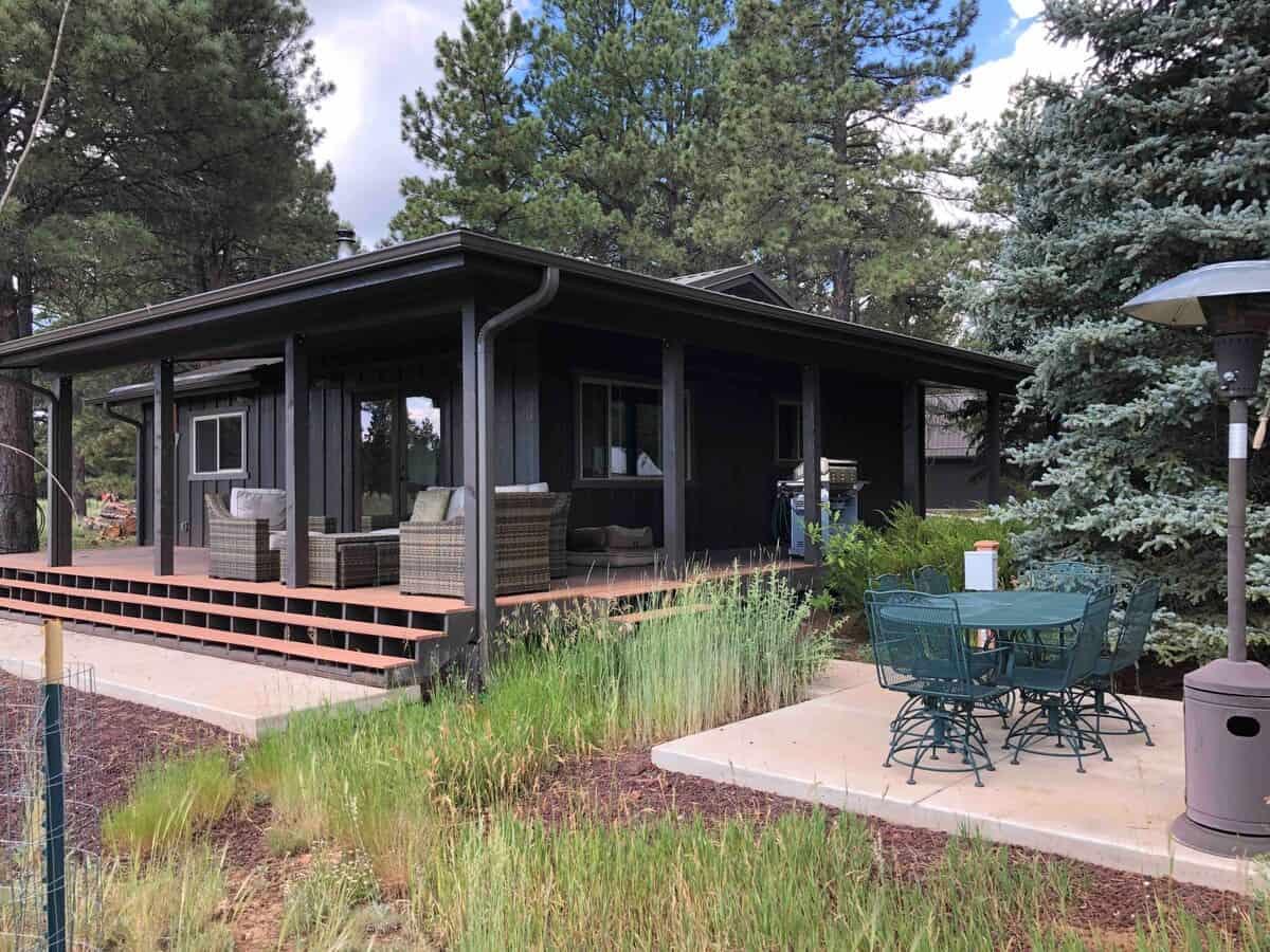 wright hill cabin