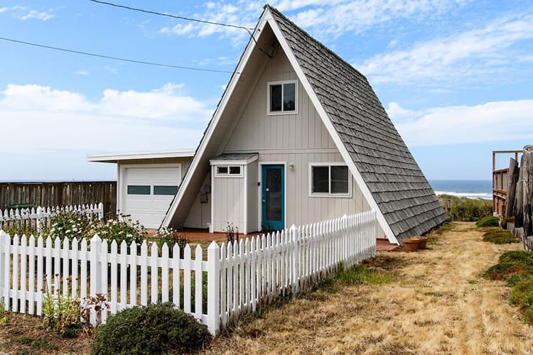 Oceanfront Cottage A-Frame