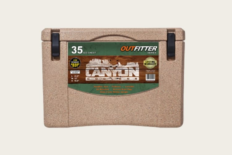 canyon coolers 35