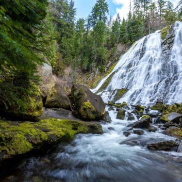 diamond creek falls hike