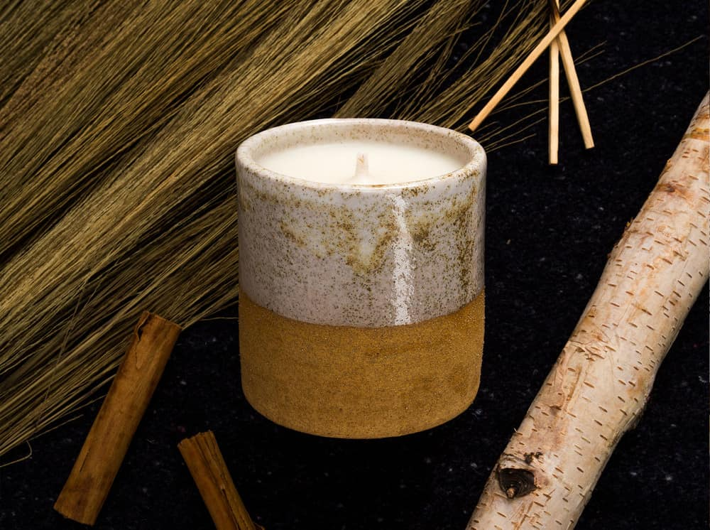 uzumati ceramics candle