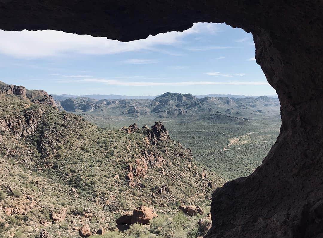 wave cave trail arizona