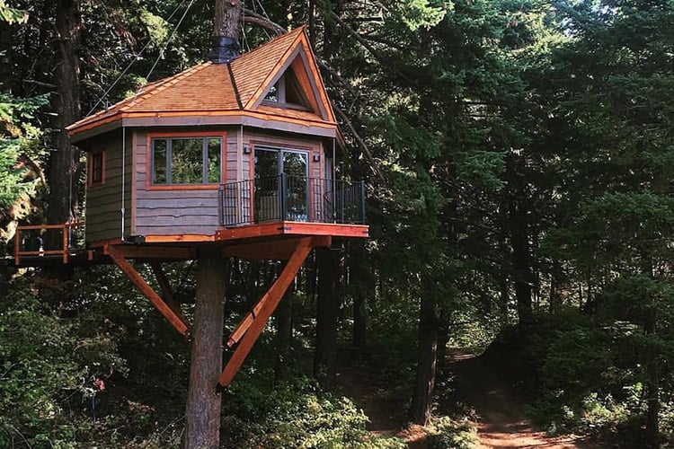 Columbia River Gorge Treehouse