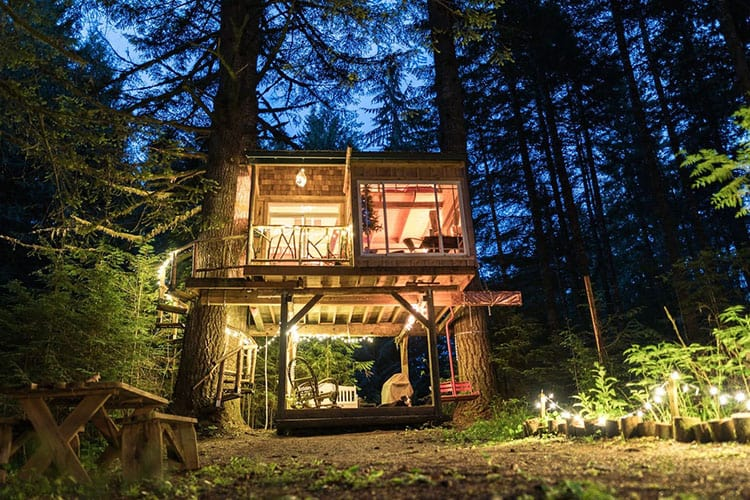 Mt Hood Treehouse