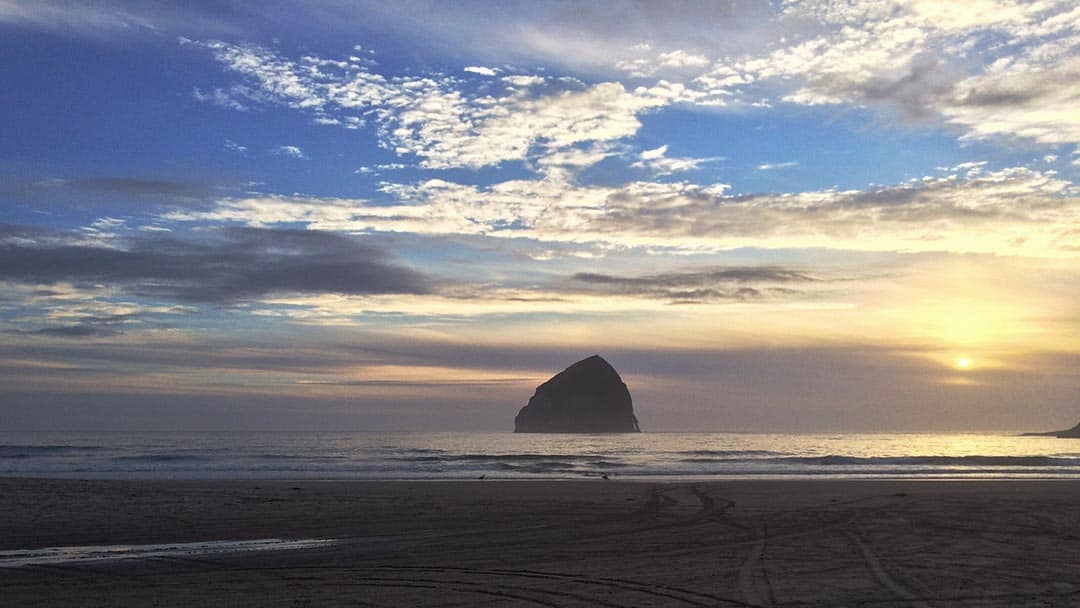 Oregon Coast Trail - Haystack Rock