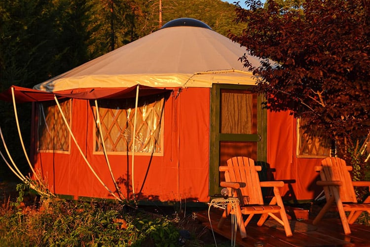 Applegate Valley Yurt