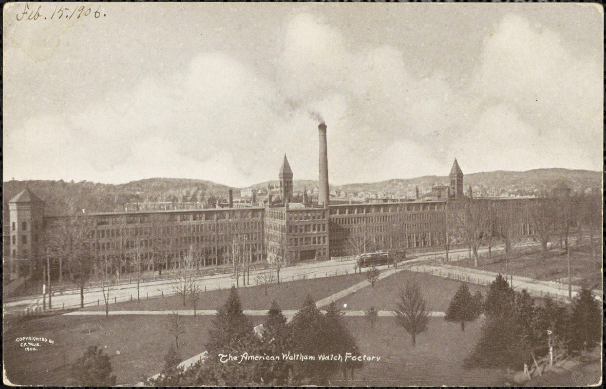 american waltham watch factory