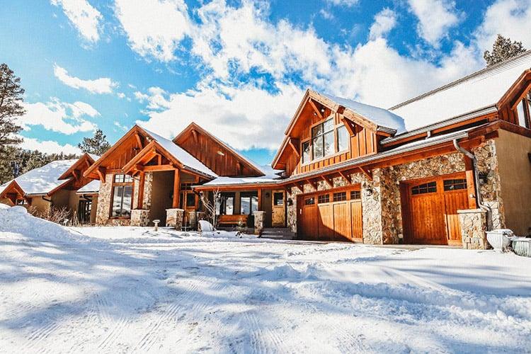 Luxury Mountain Lodge