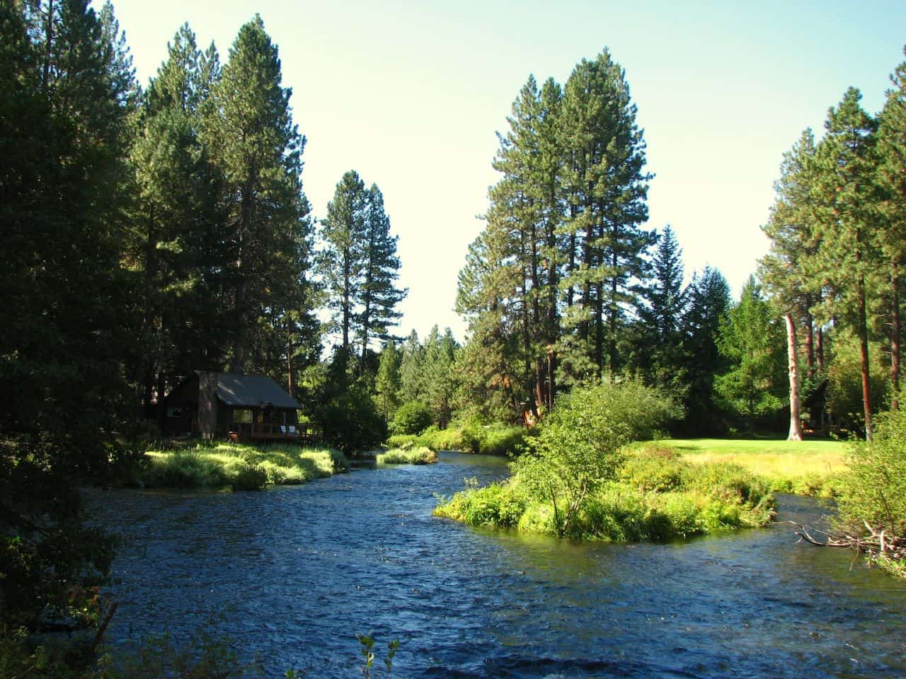 Metolius River at Camp Sherman