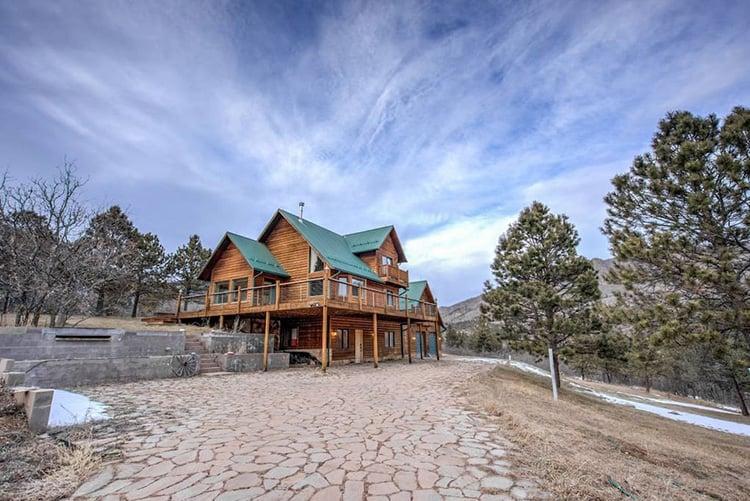 True Colorado Mountain Cabin