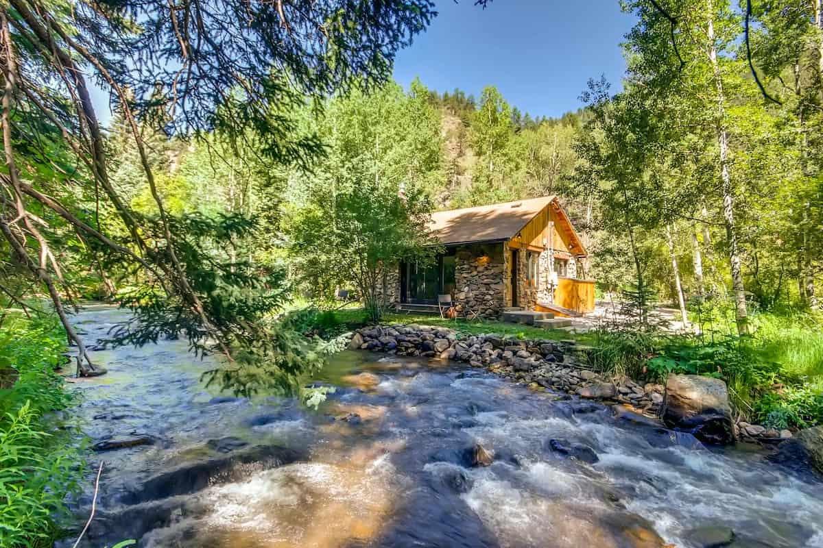 boho modern cabin