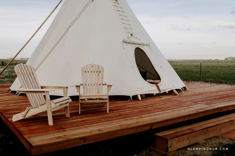 glamping tipi rental denver