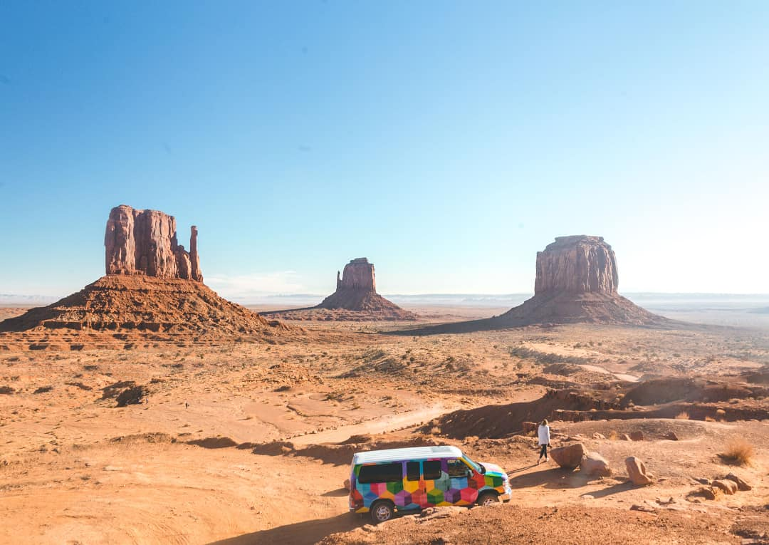 monument valley road trips