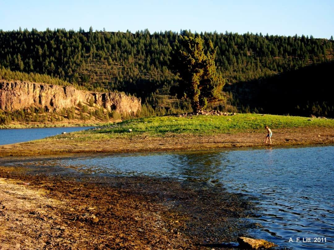 Ochoco Lake State Park, Prineville, Oregon. August 17, 2011.