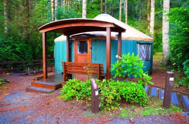 oregon yurt camping