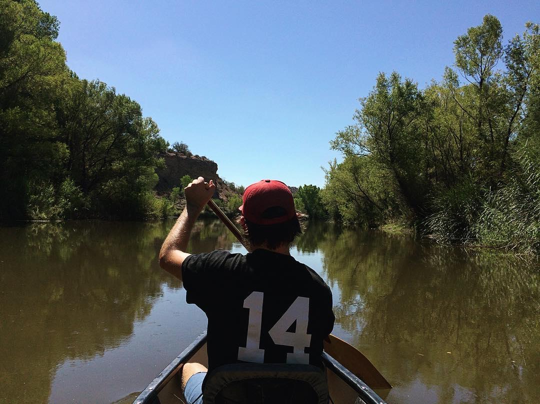 paddling verde river