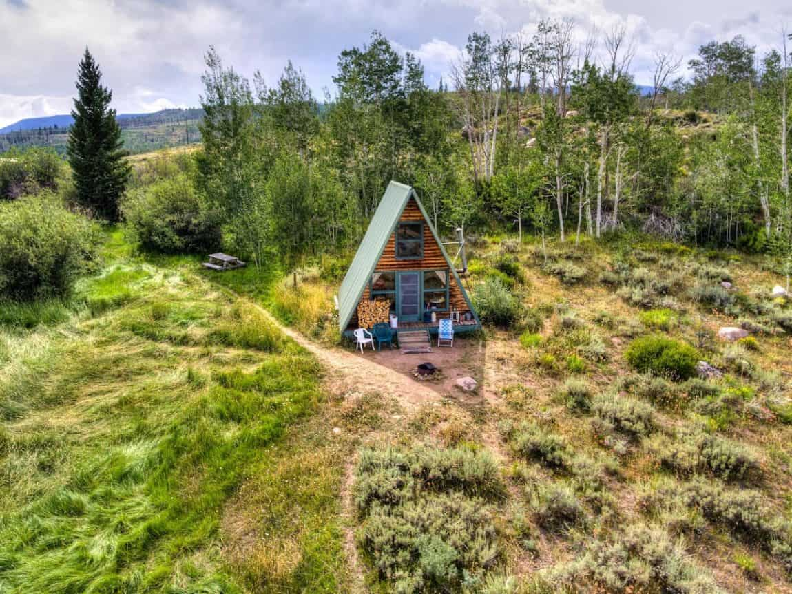 secluded colorado cabins