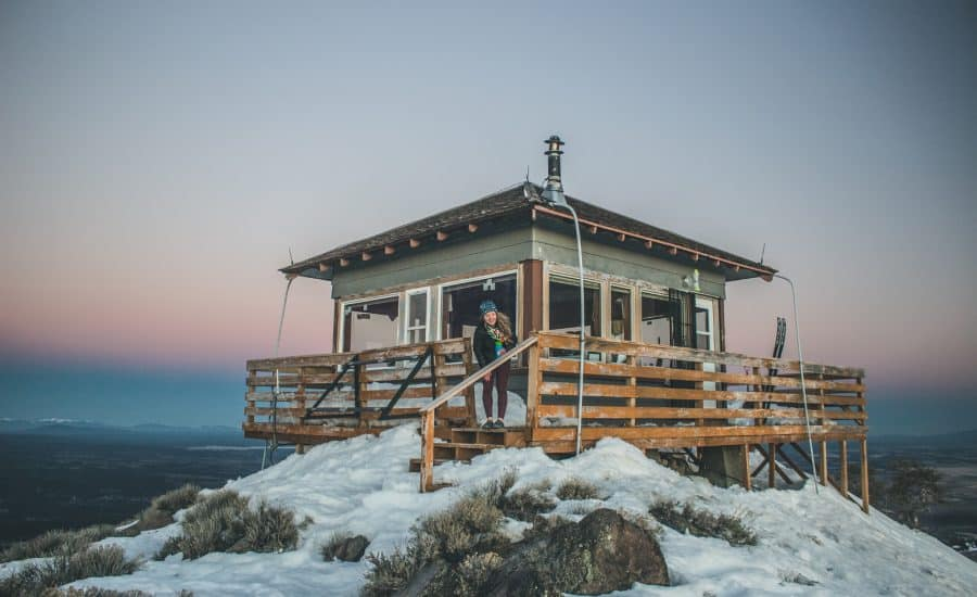 fire lookout rentals