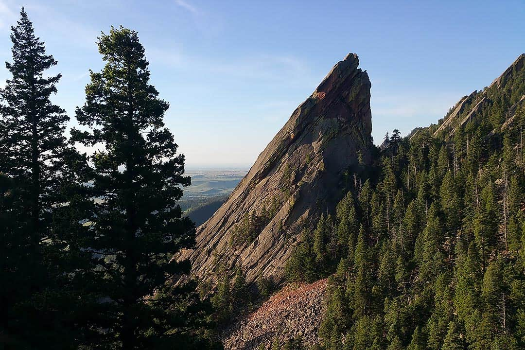 first and second flatirons hike