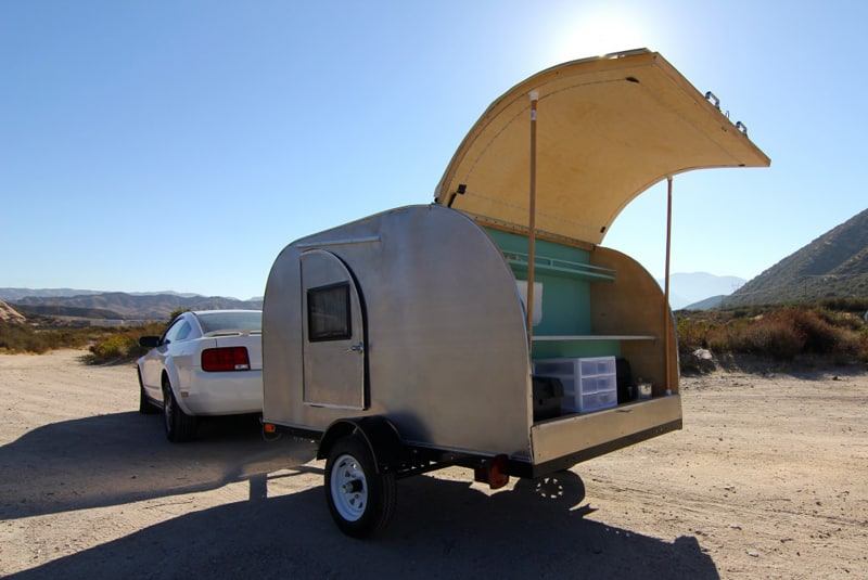 DIY Trailers: 8 Roadworthy Teardrop Camper Kits & Plans