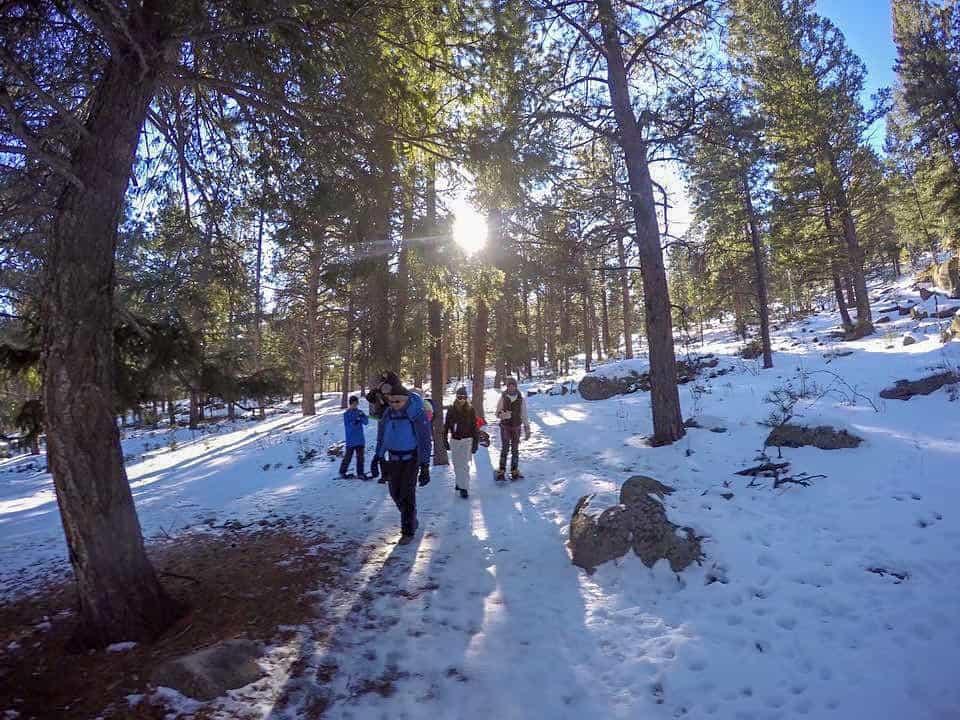 three sisters trail colorado