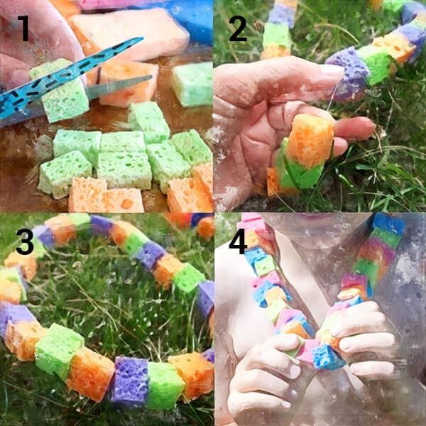 kids cooling necklace crafts