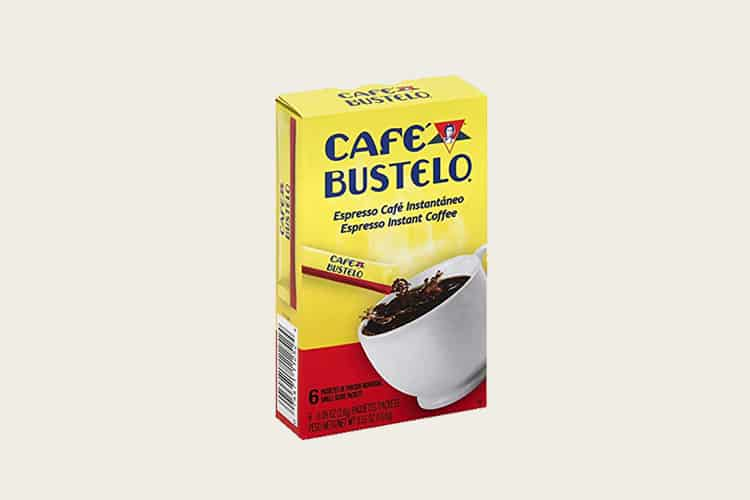 Café Bustelo Instant Coffee Single Serve Packets